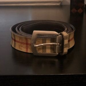 Men's Burberry belt size 36-38